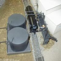 Bow River Tie Plant - Creosote Storage