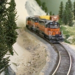 Rare shot of the Milwaukee Road on the hill