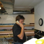 Dispatcher with New Telephone
