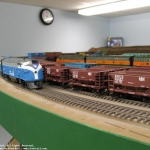 Freight passes ore