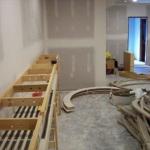 Benchwork installation
