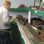 Randy Page Works the IC Side of Bartlett Yard